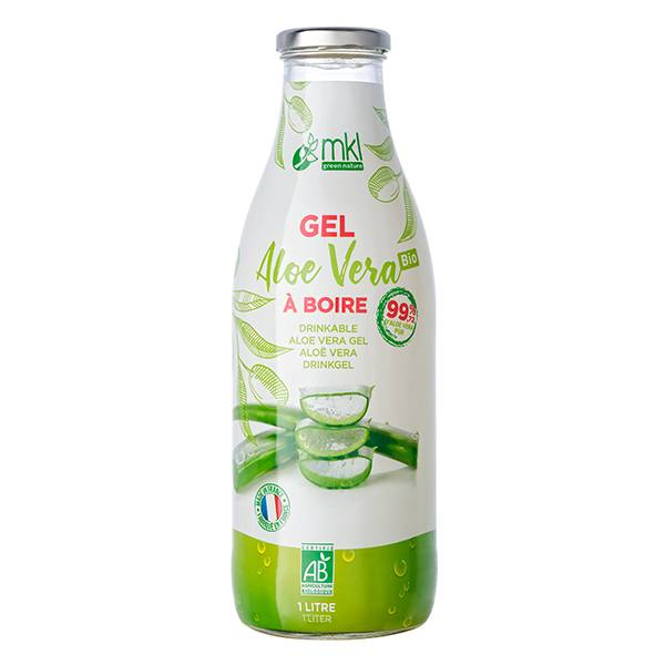 MKL Green Nature Gel Aloe Vera à Boire Bio 1L