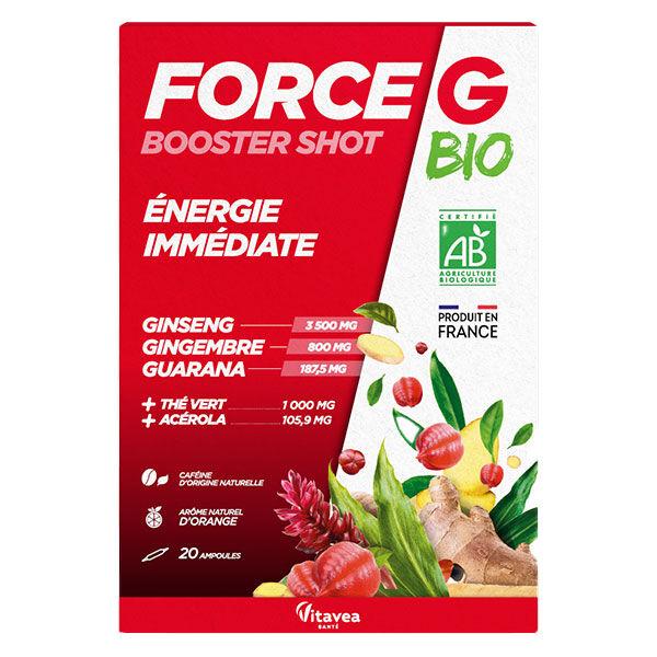 Nutrisanté Force G Bio Booster Shot Energie Immédiate 20 ampoules