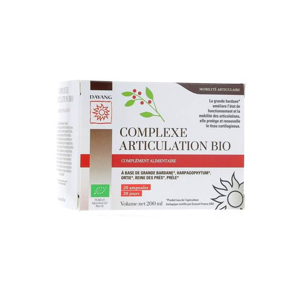 Dayang Complexe Articulation Bio 20 ampoules