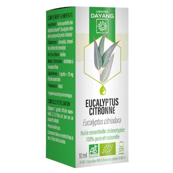 Dayang Huile Essentielle Eucalyptus Citronné 10ml