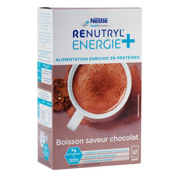 Renutryl Energie+ Chocolat 7 sticks