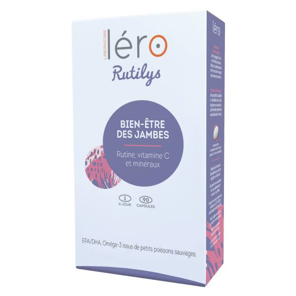 Léro Rutilys Bien-Être des Jambes 90 capsules