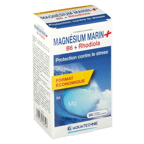 Biotechnie Magnésium Marin B6 Rhodiola 90 gélules