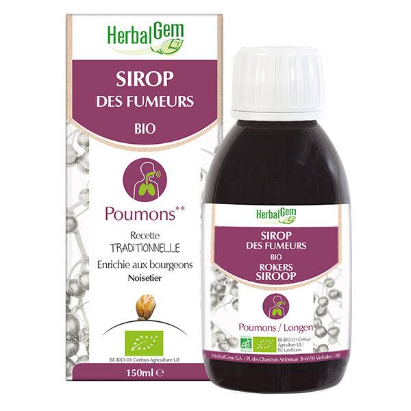 Herbalgem Sirop des Fumeurs Poumons Bio 150ml
