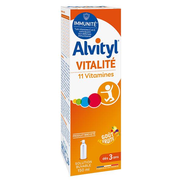 Alvityl Vitalité 11 Vitamines 150ml