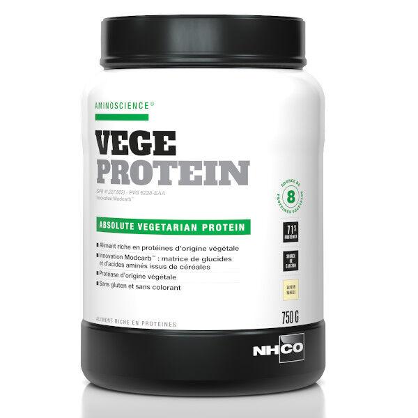 Nhco Vege Protein Protéine Végétale Vanille 750g