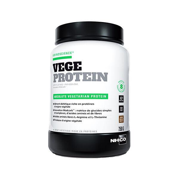Nhco Vege Protein Protéine Végétale Chocolat 750g