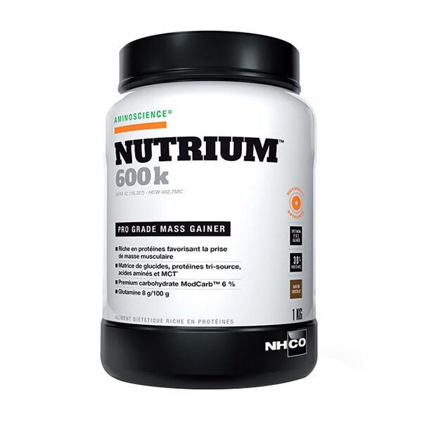 Nhco Nutrium 600k Mass Gainer Chocolat 1kg