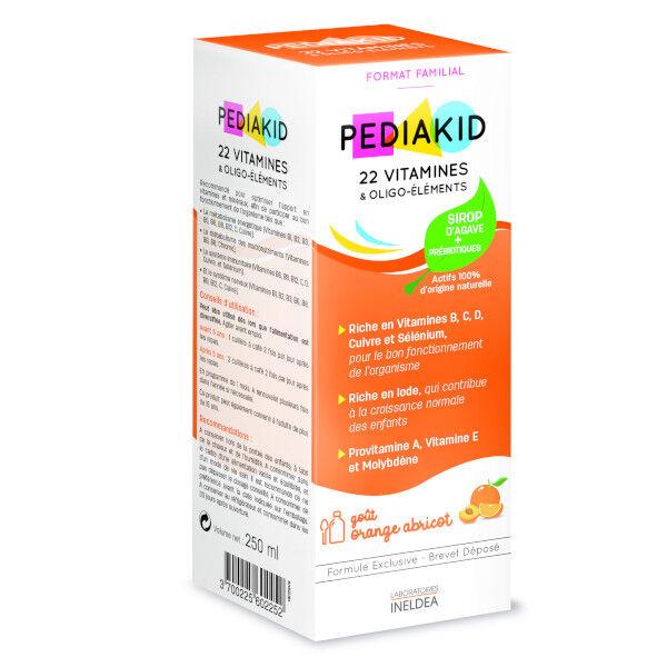 Pediakid 22 Vitamines et Oligo-Eléments 250ml