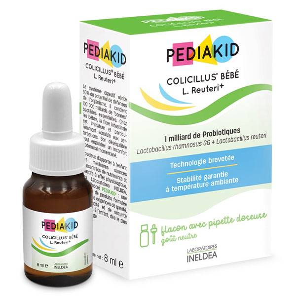 Pediakid Colicillus Bébé L.Reuteri+ 8ml