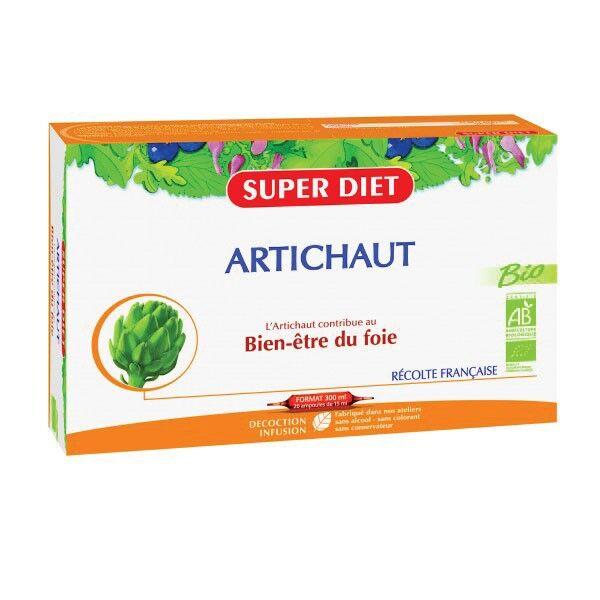Super Diet Artichaut Bio 20 ampoules de 15ml