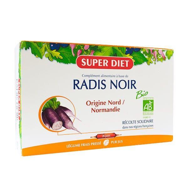 Super Diet Radis Noir Bio 20 ampoules de 15ml