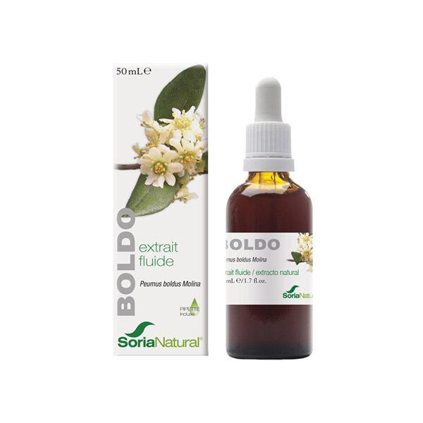 Soria Natural Extrait Fluide Glycerine Boldo 50ml
