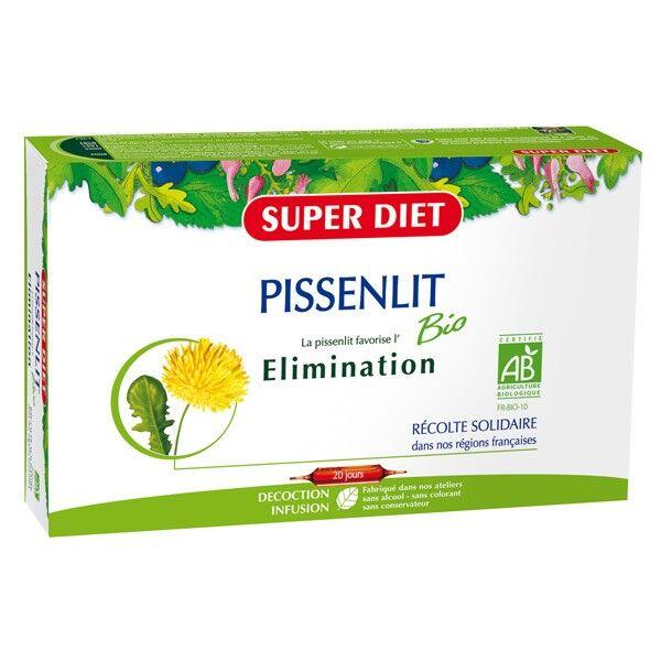 Super Diet Pissenlit Bio Elimination 20 ampoules