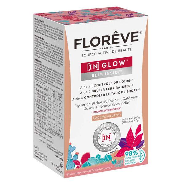 Florêve [IN] Glow Slim Inside Goût Thé au Citron 20 sticks