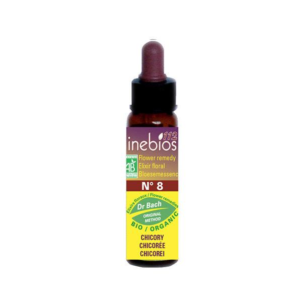 Inebios Fleur de Bach n°8 Chicory - Chicoree Bio 10ml