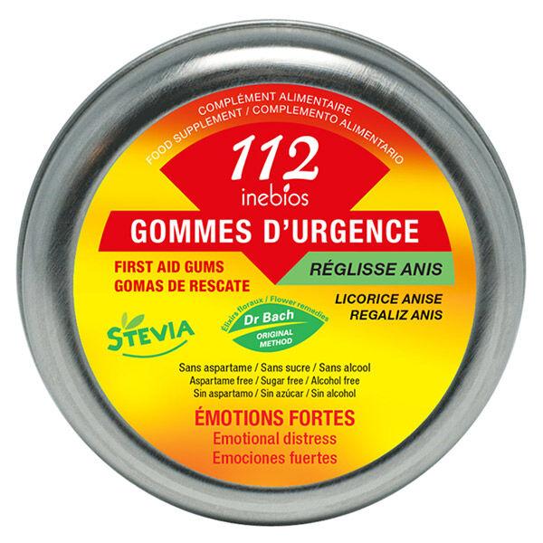 Inebios 112 Bonbons d'Urgence Réglisse-Anis 90g