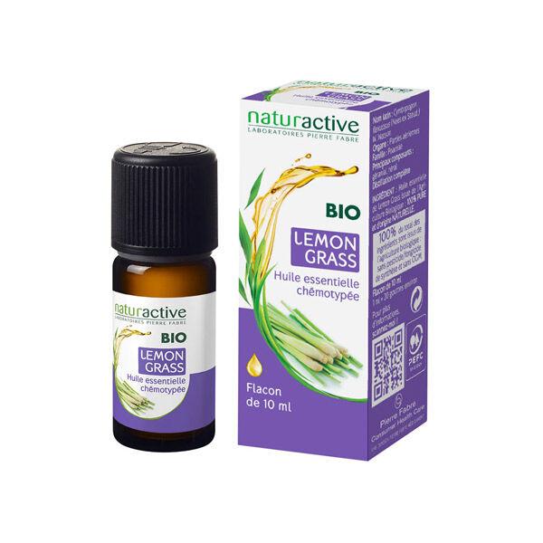 Naturactive Huile Essentielle Bio Lemon Grass 10ml