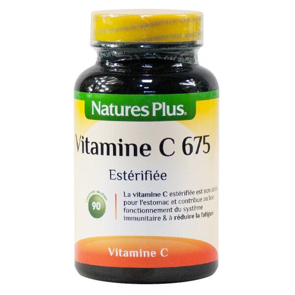 Natures Plus Vitamine C Estérifiée 675 90 comprimés