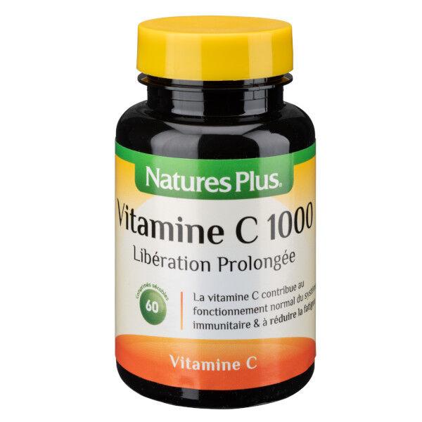 Nature's Plus Vitamine C 1000 Libération Prolongée 60 comprimés