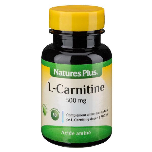 Natures Plus L-Carnitine 300mg 30 gélules