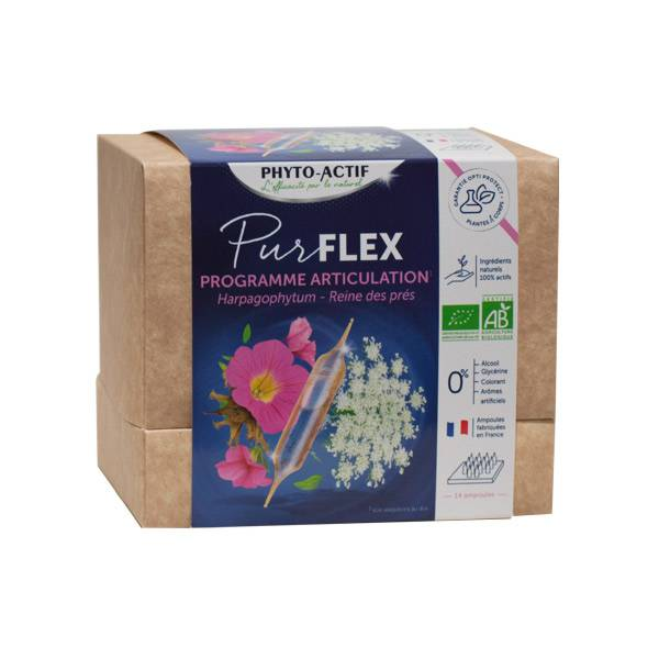 Phytoactif Pur Flex Programme Articulations 14 ampoules