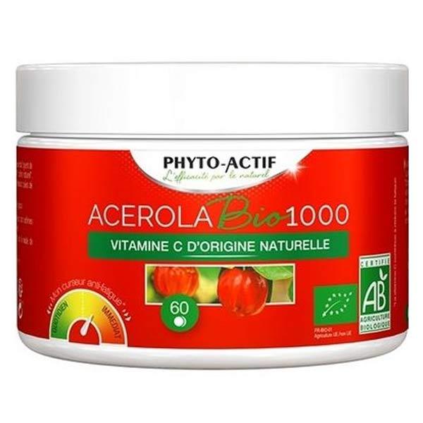 Phyto-actif Acerola 1000 Bio 60 comprimés