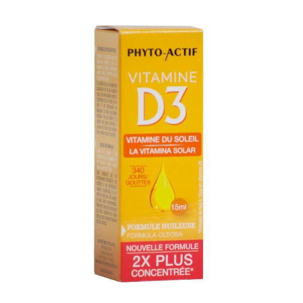 Phyto-Actif Phytoactif Vitamine D3 400 UI 15ml