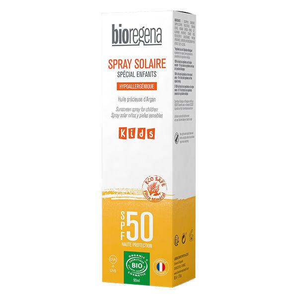 Bioregena Spray Solaire Enfant SPF50 Bio 90ml