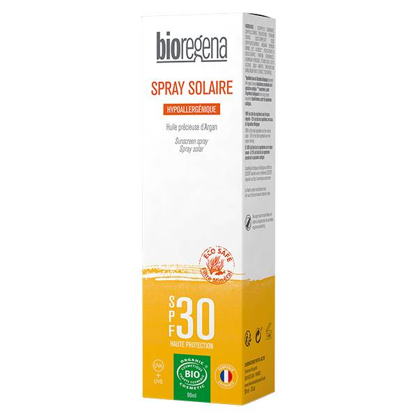 Bioregena Spray Solaire SPF30 Bio 90ml