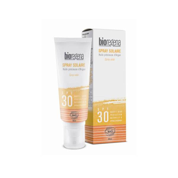Bioregena Spray Solaire Adulte SPF30 Bio 90ml