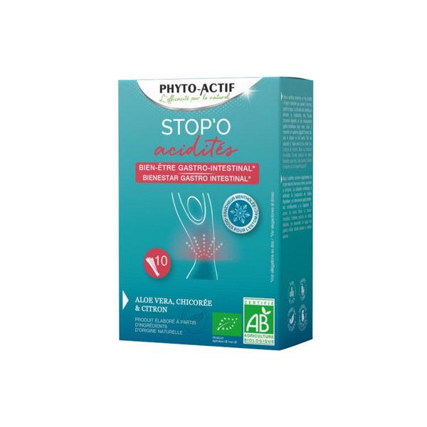 Phyto-Actif Phytoactif Stop'O Acidités Bien-Être Gastro-Intestinal 10 sticks