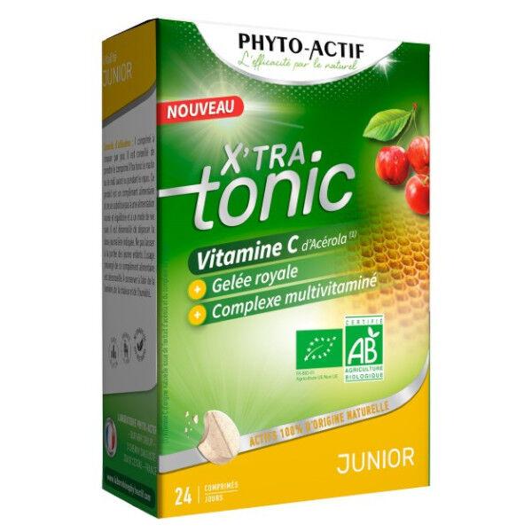 Phyto-Actif Phytoactif X'tra Tonic Junior Bio 24 comprimés
