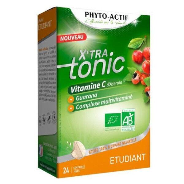 Phyto-Actif Phytoactif X'tra Tonic Etudiant Bio 24 comprimés