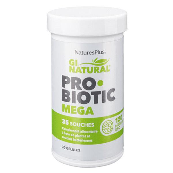 Natures Plus Probiotic Méga 30 gélules