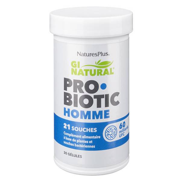 Natures Plus Probiotic Homme 30 gélules