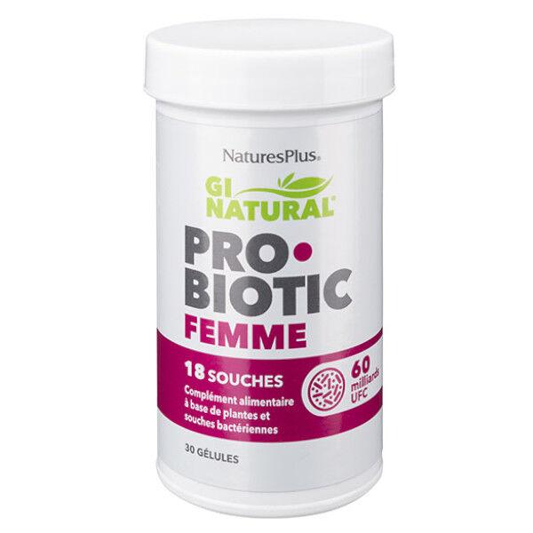 Natures Plus Probiotic Femme 30 gélules