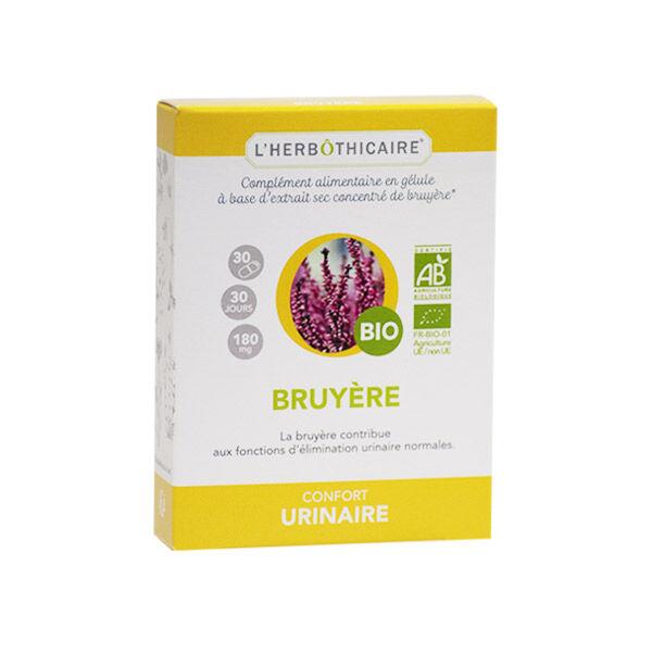 L' Herbothicaire L'Herbôthicaire Confort Urinaire Bruyère Bio 30 gélules