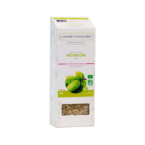 L' Herbothicaire L'Herbôthicaire Tisane Houblon Cône Bio 20g