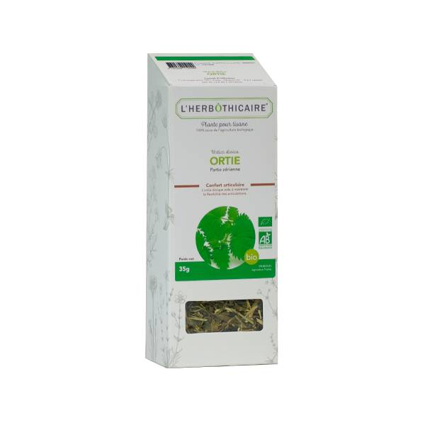 L' Herbothicaire L'Herbôthicaire Tisane Ortie Bio 35g