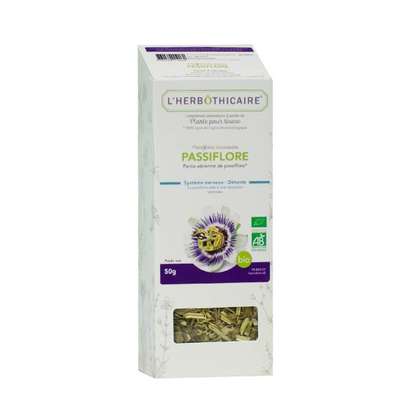 L' Herbothicaire L'Herbôthicaire Tisane Passiflore Bio 50g