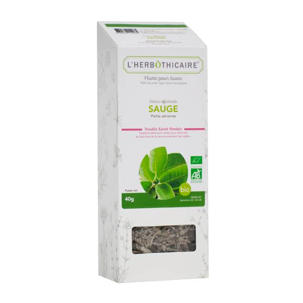 L' Herbothicaire L'Herbôthicaire Tisane Sauge Bio 40g