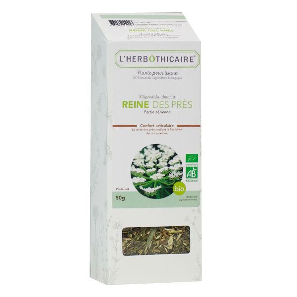 L' Herbothicaire L'Herbôthicaire Tisane Reine des Prés Bio 50g