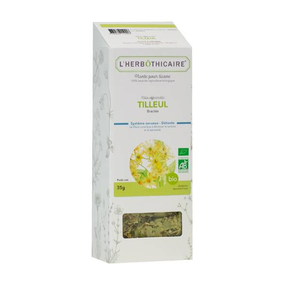 L'Herbôthicaire Tisane Tilleul Bractée Bio 35g
