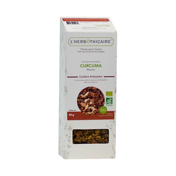 L' Herbothicaire L'Herbôthicaire Tisane Curcuma 80g