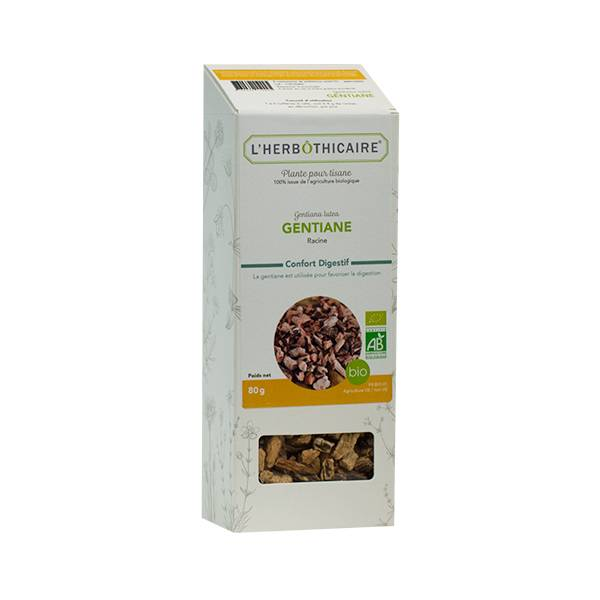 L' Herbothicaire L'Herbôthicaire Tisane Gentiane 80g
