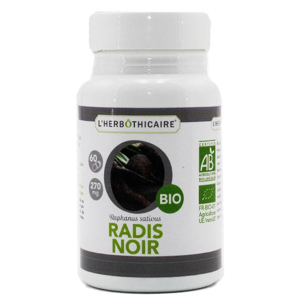 L' Herbothicaire L'Herbôthicaire Radis Noir Bio 60 gélules