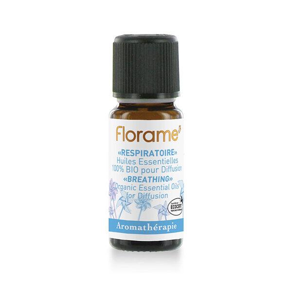 Florame Aromathérapie Complexe d'Huiles Essentielles Respiratoire Bio 10ml