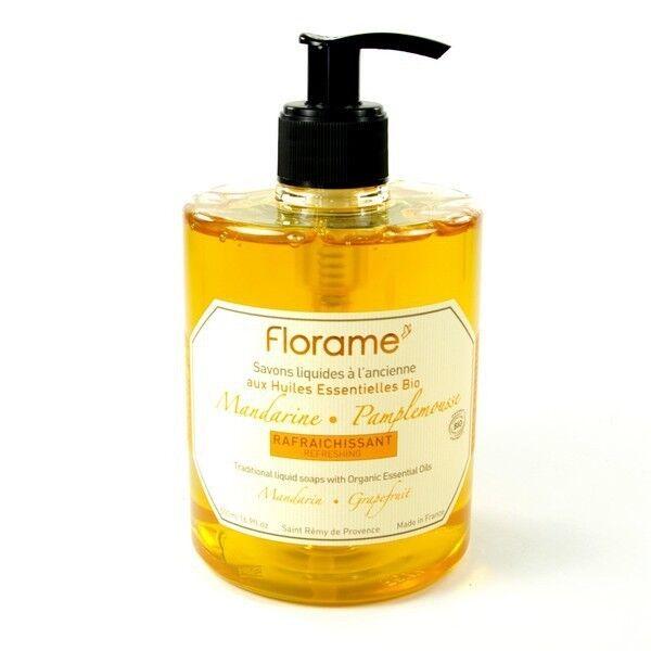 Florame Savon Liquide Mandarine-Pamplemousse 500ml