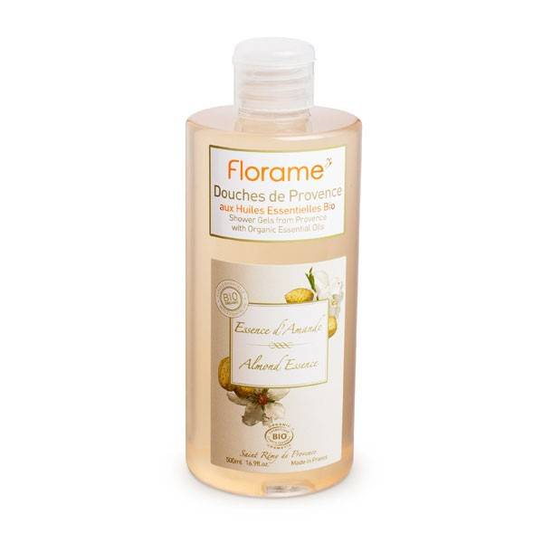 Florame Corps Gel Douche Essence d'Amande Bio 500ml